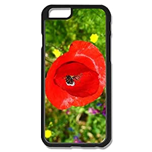 Pop Red Flower Case For IPhone 6