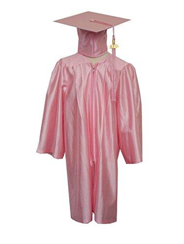 Grad Days Kindergarten Graduation Gown Cap Tassel 2018 Shiny Robe 27(3'6''-3'8''), (Preschool Graduation Gowns)