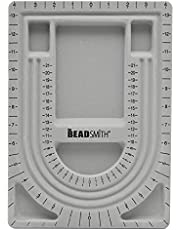 Beadsmith BBU28F Design Beading Board, 9 by 13-Inch, Grey Flock