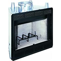 Comfort Flame CWC42C Custom Wood Burning Fireplace, 42-Inch