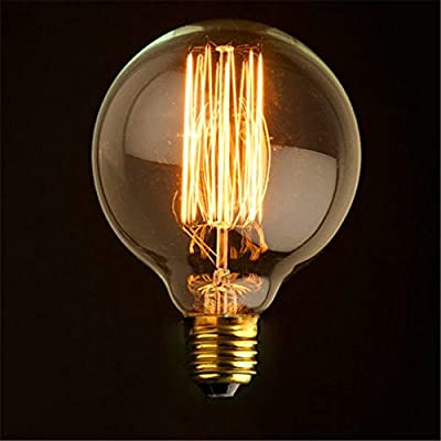 vintage light bulb filament globe edison style e27 screw Vintage Light Bulb Filament Globe Edison Style E27 Screw 41h0gLy1UfL
