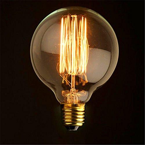 Globe 80/95/125 Vintage Light Bulb Filament Globe XXL Edison Style E27 Screw