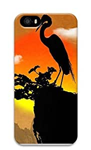 iPhone 5 5S Case Crane 3D Custom iPhone 5 5S Case Cover