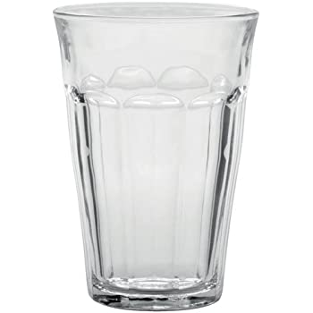 Duralex Made In France Picardie Clear Tumbler, Set of 6, 12 oz