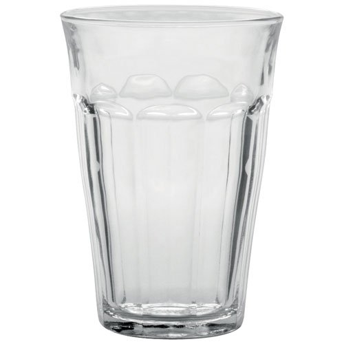 Duralex Made In France Picardie Clear Tumbler, Set of 6, 12.62 oz.]()