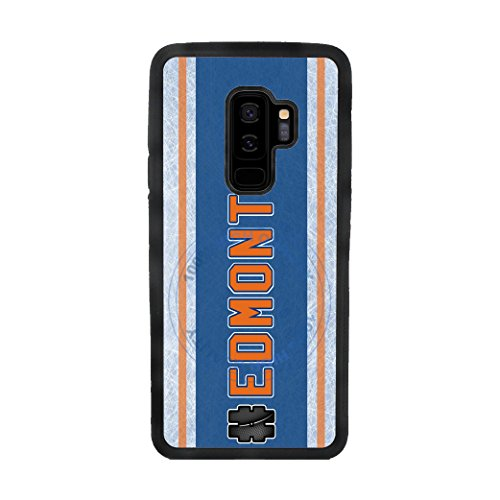 Ipod Skin Wings Detroit Red (BleuReign(TM) Hockey Team Hashtag Edmonton #Edmonton TPU RUBBER SILICONE Phone Case Back Cover For Samsung Galaxy S9)