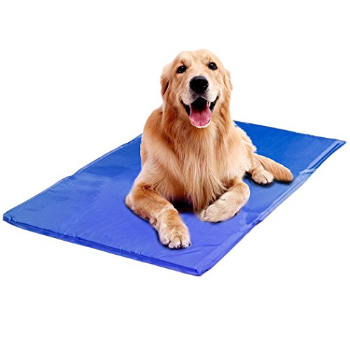 Legendog Pet Cooling Mat, Cat Dog Self Cooling Mat Gel Pad for Kennels Crates and Beds by Legendog