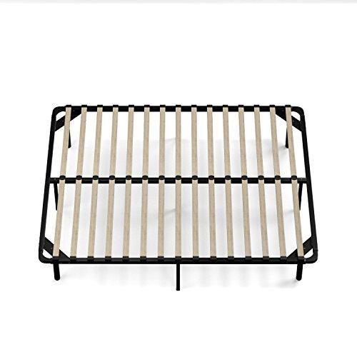 Handy Living Wood Slat Bed Frame Queen Desertcart