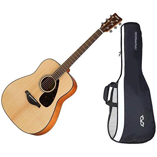 Yamaha FG800 Solid Sitka Spruce Top Natural Folk Acoustic Guitar w/ Gig Bag