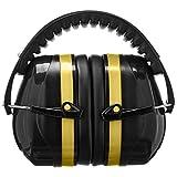 AmazonBasics Safety Ear Muffs Ear Protection, Black