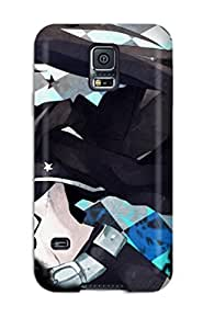 Mary David Proctor CDPOnGM584GshEP Skin Case For Sumsung Galaxy S4 I9500 Cover (black Rock Shooter)
