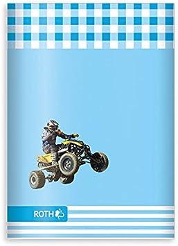 Roth Muttiheft//Oktavheft Quad A6 64 Seiten liniert