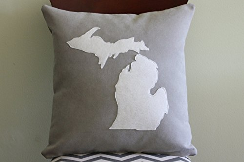 State Shape Pillow - STATES L-N: Louisiana to North Dakota