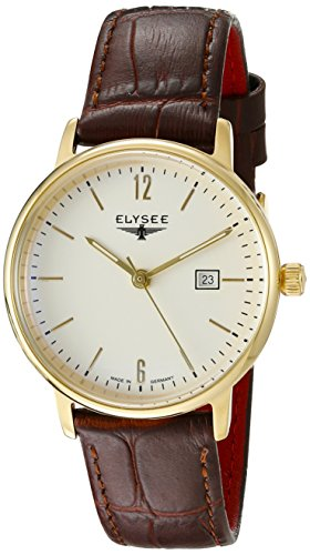 ELYSEE Women's 13286 Ladies-Edition Analog Display Quartz Brown Watch