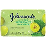 Sabonete Barra Uva Verde, Johnson's, 80g