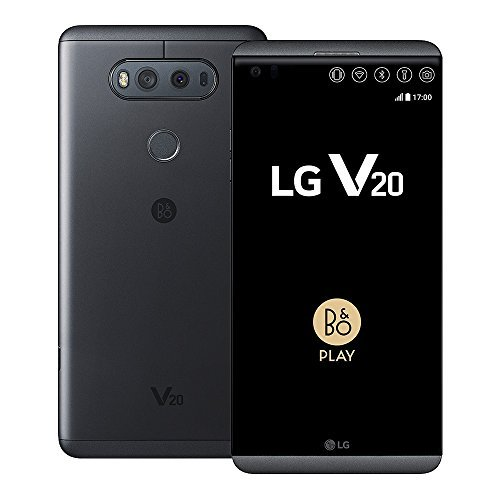 LG V20 H990DS 64GB 5.7-Inch 16MP + 8MP 4G LTE Dual SIM FACTORY UNLOCKED - International Stock No Warranty (TITAN)