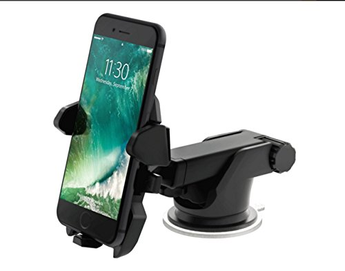 Advancell Mobile phone support vehicle mounted mobile phone telescopic rod mobile phone support Transformers instrument stand suction cup bracket for iPhone 6s Plus 6s 5s 5c Samsung Galaxy S7