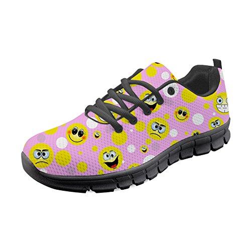 de B Zapatillas Idea Hugs Mujer para Running 4 H357AQ Emoji Y 4gnZwqUH