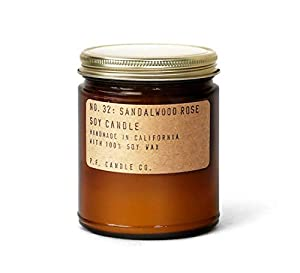 P.F. Candle Co.. — No. 32: Sandalwood Rose Soy Candle (Standard 7.2 oz) by P.F. Candle Co.