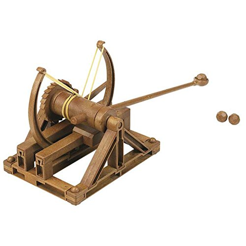 Academy Da Vinci Machines Series Catapult Plastic Toy Kit (English Manual included)