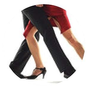 alfombrilla de ratón bailarines de tango elegnace - ronda - 20cm