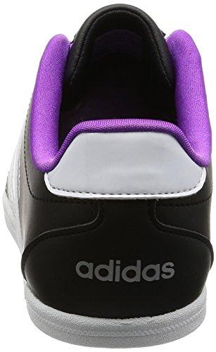 Adidas Vs Coneo Qt W Bianco-nero-viola