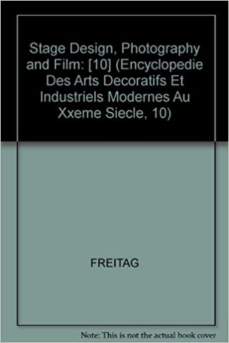 STAGE DESIGN PHOTO (Encyclopedie Des Arts Decoratifs Et Industriels Modernes Au Xxeme Siecle, 10)