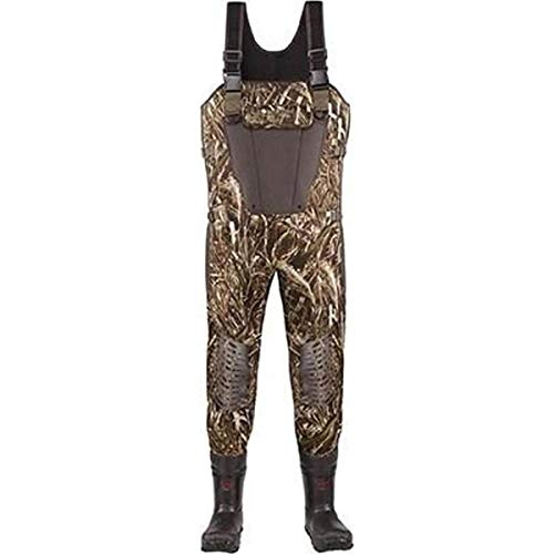 Brush Tuff Waders - Lacrosse Men's Mallard II Expandable1000G Waders, Camouflage, 14 M