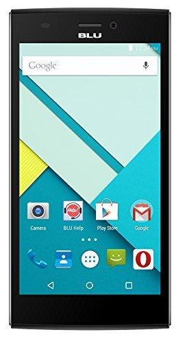 BLU Life One XL X030Q 8GB Unlocked GSM 4G LTE Quad-Core Smartphone w/ 13MP Camera, Black