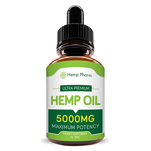 Hemp Oil For Pain Relief - 5,000mg Of Full Spectrum Organic