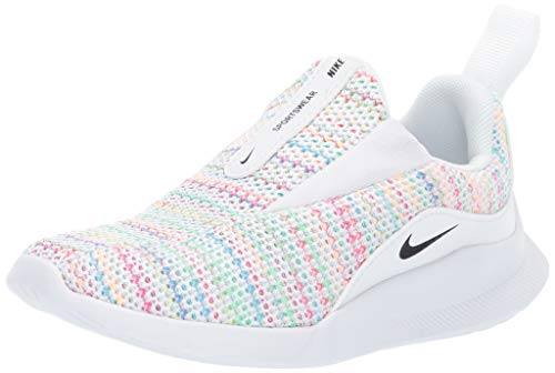 Nike Boys' Viale Space Dye (Td) Sneaker, Pure Platinum/Psychic Pink/Black, 2C Regular US Toddler (Wide Nike Baby Shoes)
