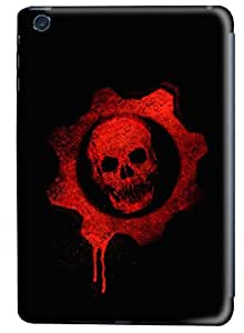 PhoenixShop iPad Mini 3D Phone Case, Scaring Red Skull Special Designed Lightweight Hard Shell PC 3D Case For iPad Mini
