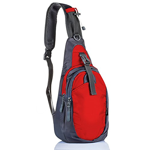 c3bad91464 LC Prime Sling Bag Bag Chest Shoulder Unbalance Gym Fanny Backpack Sack  Satchel Outdoor Bike Nylon