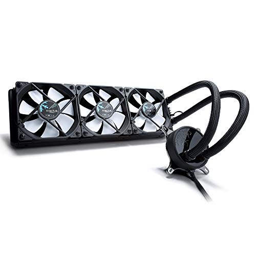 Fractal Design Celsius S36 LLS Bearing PWM Control 500 - 2000 RPM Dual Water Cooling Fan - Black