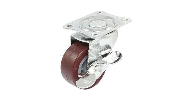 eDealMax PP carro giratorio placa Plana de POCA potencia de las ruedas giratorias, DE 1, 4 pulgadas Dia: Amazon.com: Industrial & Scientific