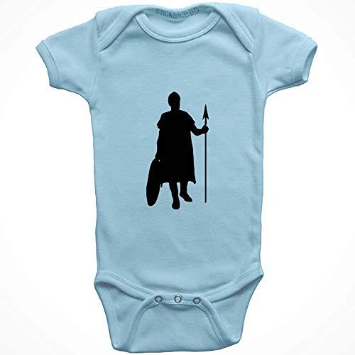 Stickerslug Knight Onesie Baby Clothes Jumper (Light Blue, 12 Months) b20916