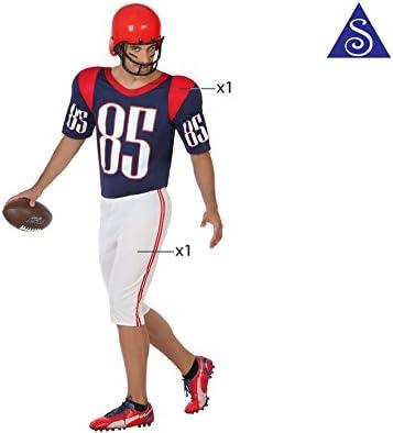 Atosa-49979 Atosa-49979-Disfraz Jugador Rugby-Adulto XXL-Hombre ...