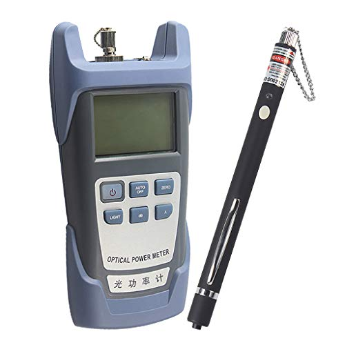 Baosity AUA-9 Fiber Optic Cable Tester Optical Power Meter with Sc & Fc Connector Tester + 10mW Visual Fault Locator Equipment for CATV Test,CCTV Test Black by Baosity (Image #9)