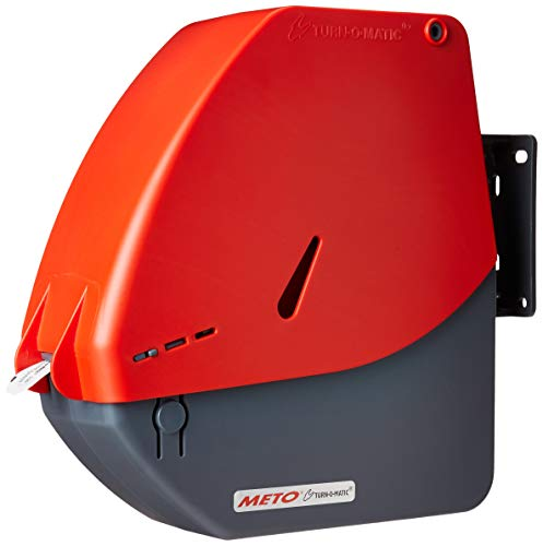 Turn-O-Matic D900 Red/Gray Take a Number Ticket Dispenser includes one roll of T90 tickets. ()