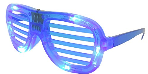 Blue LED Slotted Party (Party City Military Costume)