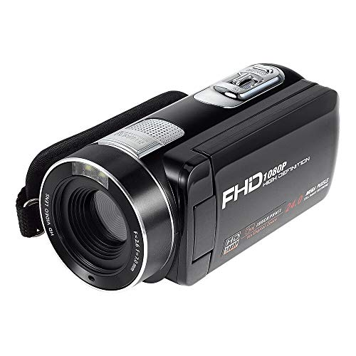 HD Camera,Digital Camcorder Camera for Home and Outdoor Video Recording (RV-C, RV/Light Black)