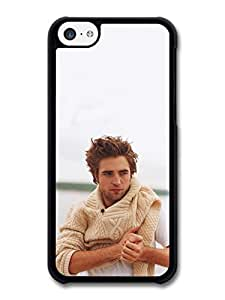 MMZ DIY PHONE CASERobert Pattinson Jumper Posing case for iphone 6 plus 5.5 inch