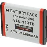 Otech D129SN Batterie Pour Appareil Photo Numérique De Type Samsung SLB-1137D 3,7 V 1100 mAh