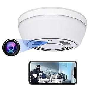 Flashandfocus.com 41h0qrYCoXL._SS300_ Hidden Camera Smoke Detector - Spy Camera 180 Days Standby Mini HD 1080P WiFi Night Vision Motion Detection Video…