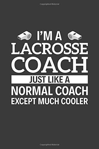 I'm A Lacrosse Coach Just Like A Normal Coach Except Much Cooler: 6