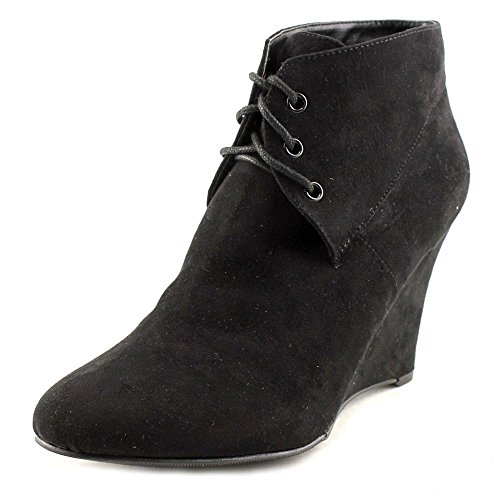 Thalia Womens Toe Suede Closed Sodi NOA Ankle Blk1 Fashion Boots qqW5ArUnw