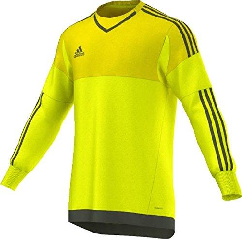 Adidas Top 15 Goalkeeper Mens Soccer Jersey 2XL Bright Yellow-Branch (Soccer Jerseys Goalie Adidas)