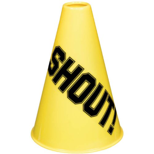 Amscan Megaphone, Party Accessory, Yellow ()