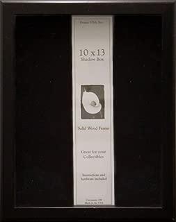 product image for Frame USA Shadow Box Showcase Series 10x13 Wood Frames (Black)