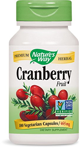 Nature's Way Cranberry Fruit, 465mg, 100 Capsules